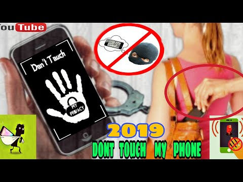 Don't touch my phone - best App for Android