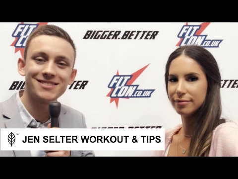 BEYOND THE GLUTES: JEN SELTER SHARES INSIGHTFUL TIPS
