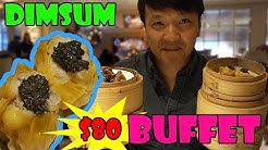 The BEST LUXURY All You Can Eat DIM SUM Brunch Buffet!