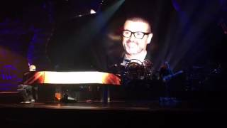 Sir Elton John emotional tribute to George Michael 1/1/2017