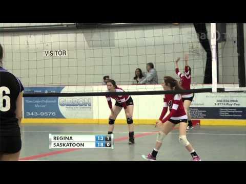 2015 Conexus Provincial Volleyball Championships - 15U Women Final