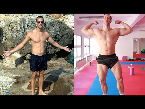 My Natural Powerlifting Transformation (tall guy 9 years of training)