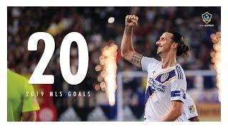 Zlatan Ibrahimović's first 20 goals of LA Galaxy's 2019 season