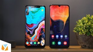 Samsung Galaxy A50 vs Pocophone F1 Comparison Review