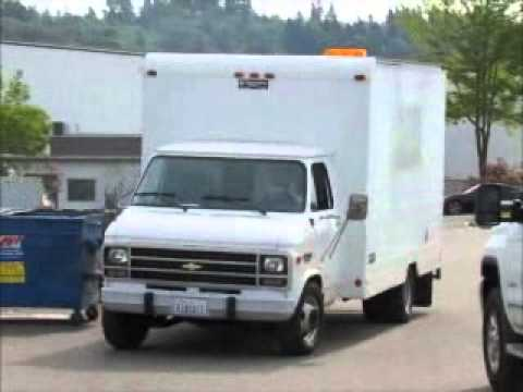 Sold! Chevrolet G30 13' Box Van w/ Intercontinental Truck Body bidadoo.com