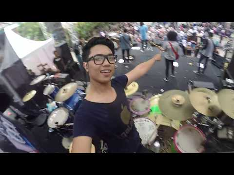 GOOD MORNING EVERYONE - S.S.W.I.L.A  live (drumcam)