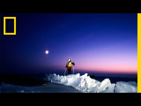to the north pole in darkness nat geo live youtube