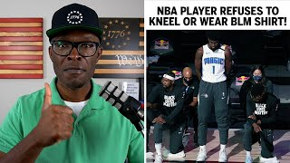NBA Player Jonathan Isaac REFUSES To Kneel During National Anthem!