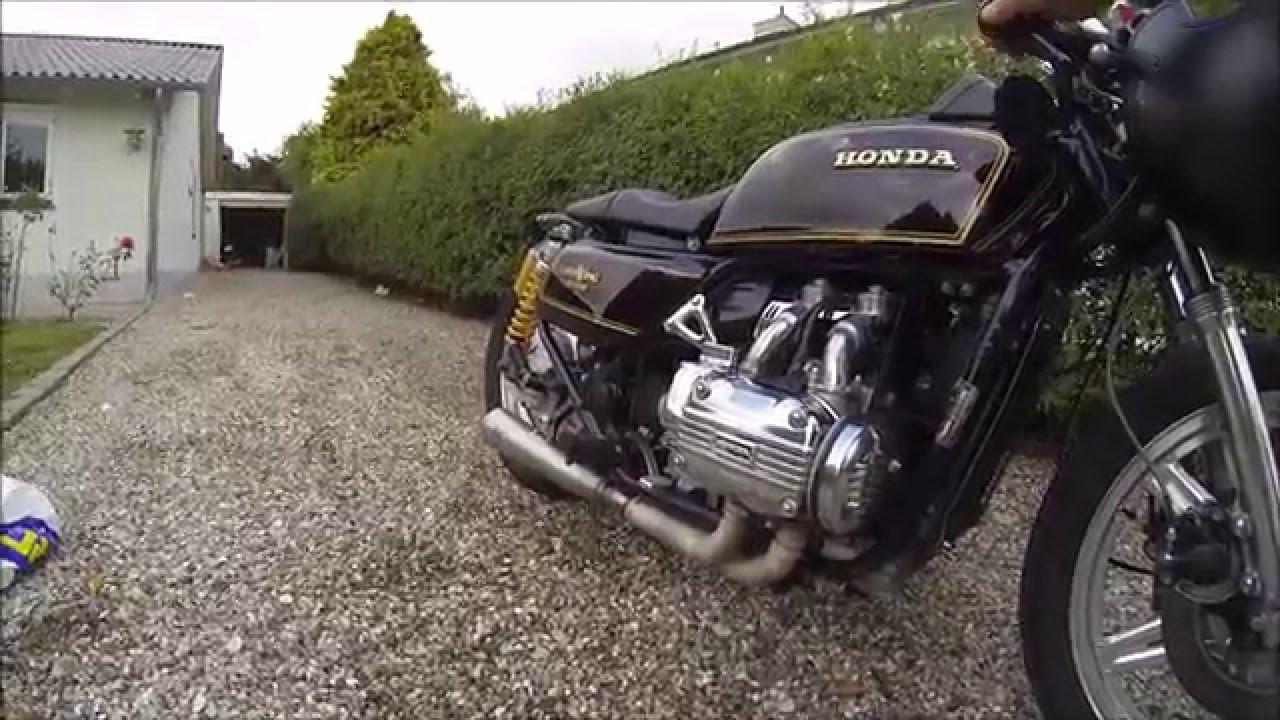 ride honda goldwing cafe racer gopro youtube