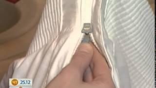 Как правильно стирать пуховик - Добрые советы - Интер(В условиях наших капризных зим пуховик лучше всего подходит в качестве повседневной верхней одежды. Но..., 2014-12-25T13:31:55.000Z)