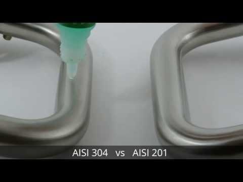 AISI 304 vs AISI 201