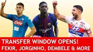 FEKIR, JORGINHO & DEMBELE TO LIVERPOOL? Transfer Window Opening Special #LFC