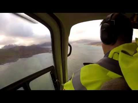 Flying around the Highlands & Islands of Scotland by Helicopter