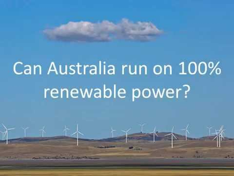 Can Australia run on 100% renewable power?