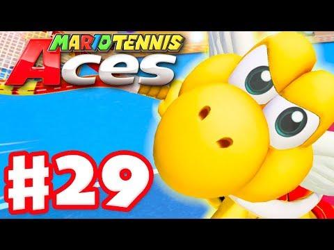 Mario Tennis Aces - Gameplay Walkthrough Part 29 - Koopa Paratroopa! (Nintendo Switch) - 동영상