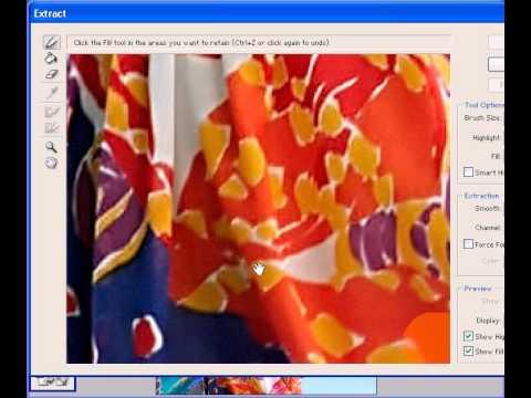 Photoshop CS2 - Phần 2 - Bài 1 - Extract.