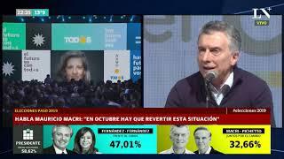 Macri tras la derrota en las PASO: