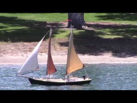 RC Sailboat Build - DIY Cotton Sails