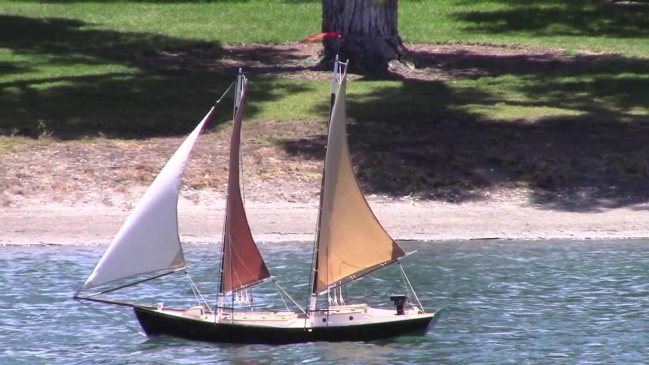 RC Sailboat Build - DIY Cotton Sails