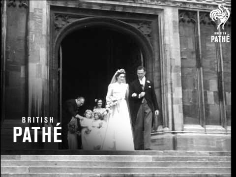 Wedding Of Daughter Of Sir Alan Lascelles, The King's Private Secretary AKA Society Wedding (1949)