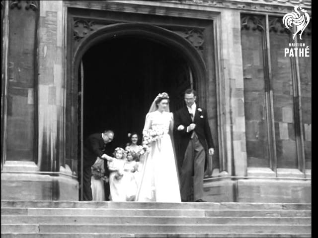 Wedding Of Daughter Of Sir Alan Lascelles, The Kings Private Secretary AKA Society Wedding (1949)