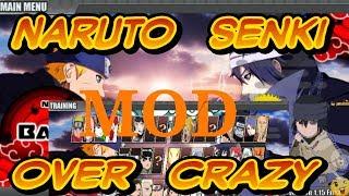 Gambar cover tutorial download NARUTO senki MOD OVER CRAZY    Tutorial Android