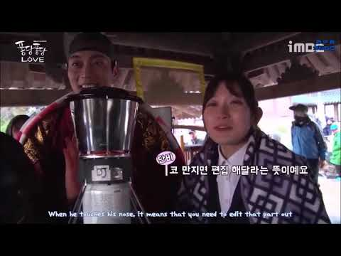 [ENGSUB] BTS Splash Splash Love - Doo Joon & Kim Seul Gi delightful and secret hand signals