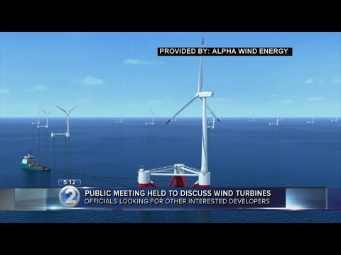Public meeting discusses proposal to build offshore wind turbines