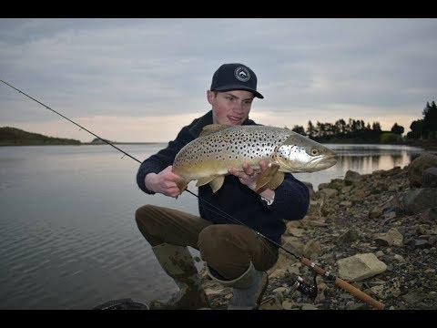 Soft Plastic Fishing A Tidal Estuary For Sea Run Trout.