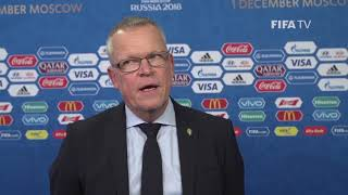 Janne ANDERSSON – Sweden - Final Draw Reaction
