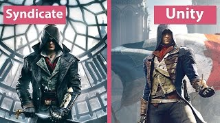 Assassin s Creed Syndicate vs. Unity Graphics Comparison FullHD 60fps
