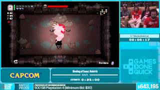 Binding of Isaac: Rebirth Azazel by Slackaholicus in 18:04 - Summer Games Done Quick 2015 - Part 134