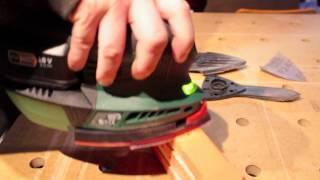 Video 134 Ponceuse Bosch PSM 18 Li