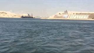 New Suez Canal: the rest of the time 48 hours after the end of dredging July 13