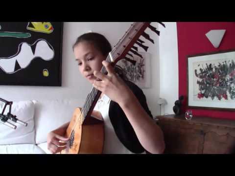 Catalina Pires - Gavotte I & II (Johann Sebastian Bach)