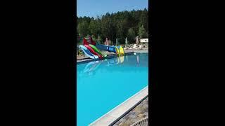 Обзор летней аква зоны спа отеля ШишкiNN Как найти отель с бассейном в Украине