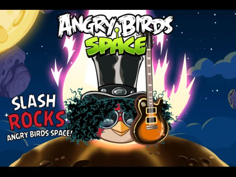 Angry Birds Space New Theme Song By Slash