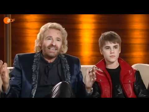 Talk With Justin Bieber On Wetten Dass..? (Germany The 19th March 2011)
