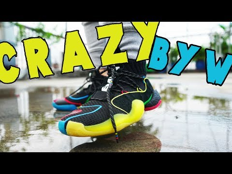 better for whole family various styles Pharrell Williams CRAZY BYW LVL X REVIEW AND ON-FEET - YouTube