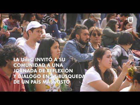 #EncuentrosUdeC: La #UdeC reflexiona cómo construir un país más justo