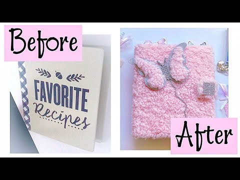 DIY How To Turn A Binder Into A Planner/Mini Target Binder Transformation