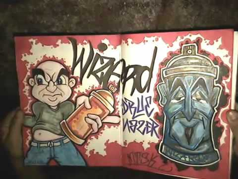 blackbook from wizard new graffiti and old youtube