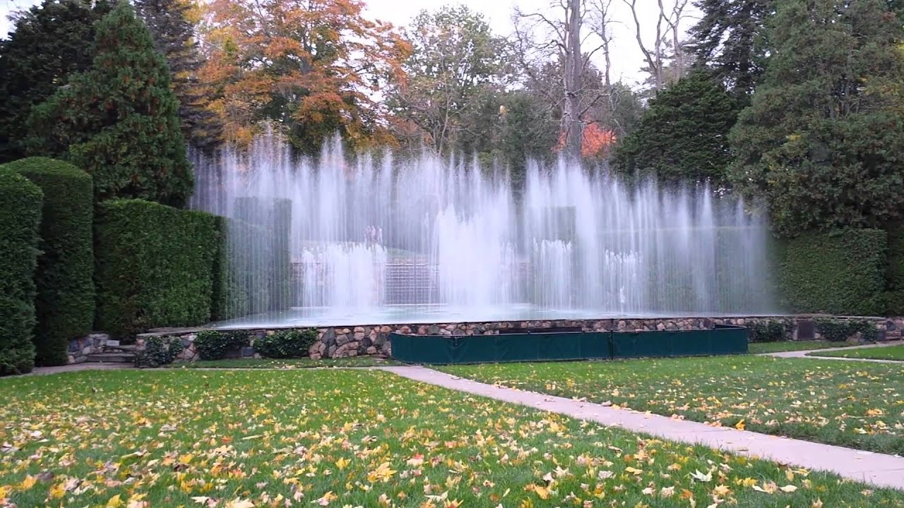 Longwood Gardens Open Theatre Fountain Show Youtube