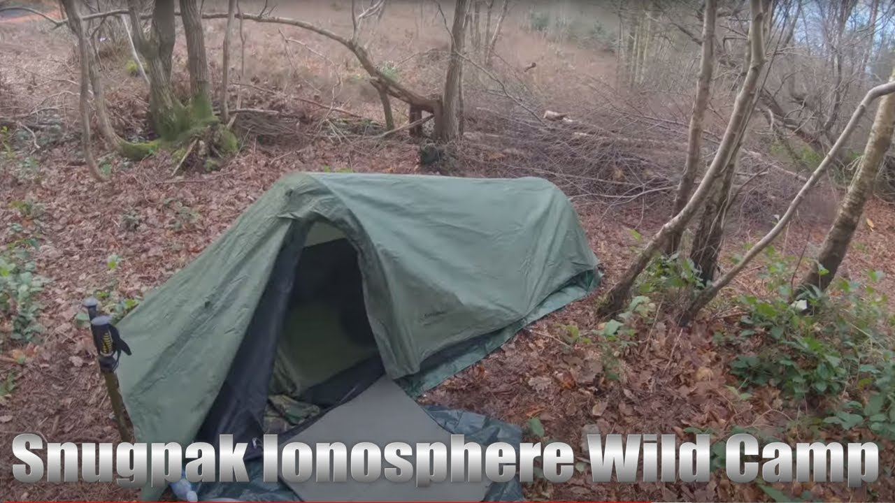 Wild Camp And A Walk At Toys Hill Kent 4k Youtube