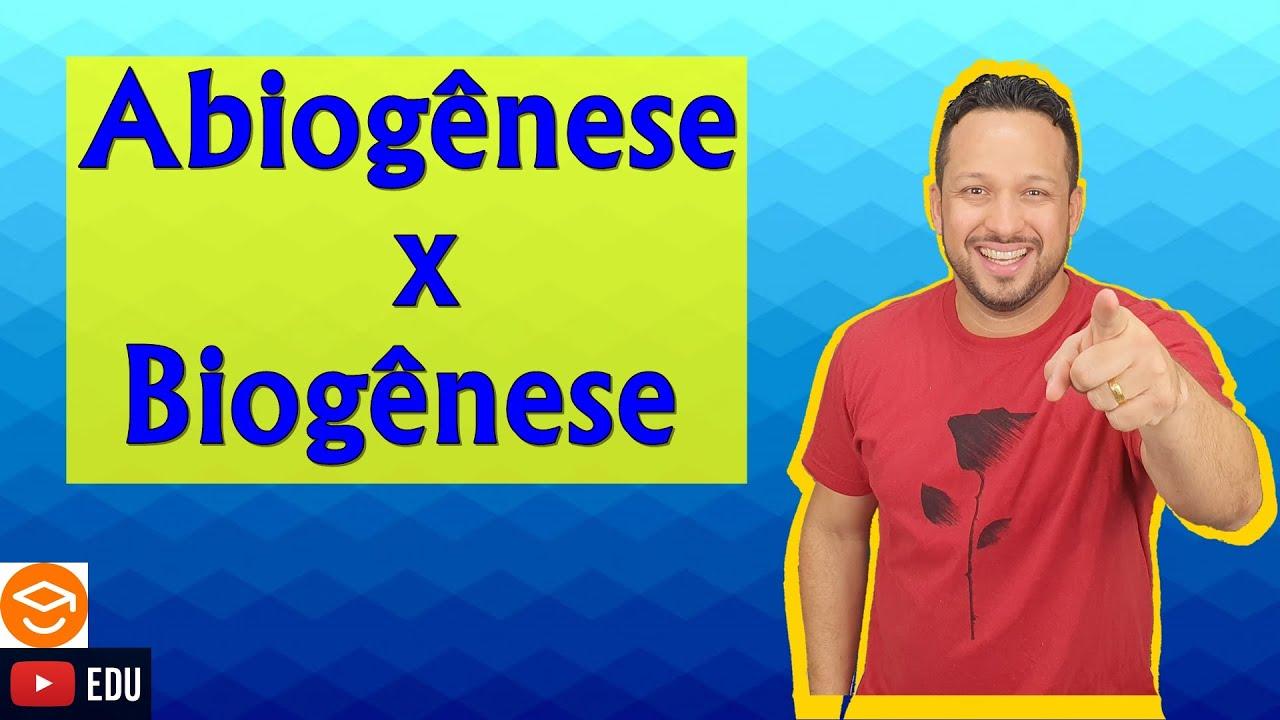 Abiogênese ou Geração Espontânea e Biogênese - Origem da Vida