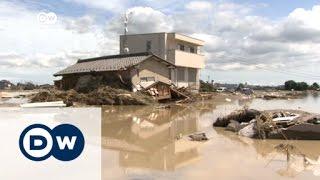 الفيضانات تجتاح اليابان | الاخبار