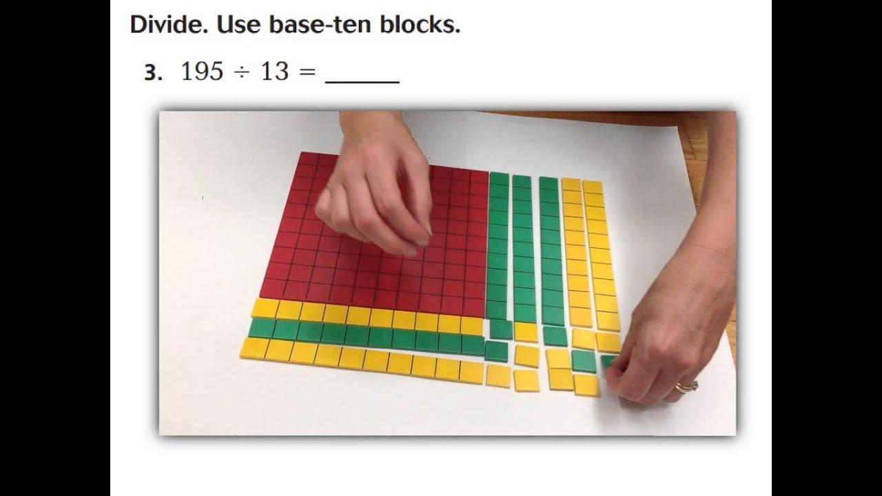 Lesson 2 3 Division Base 10 Blocks