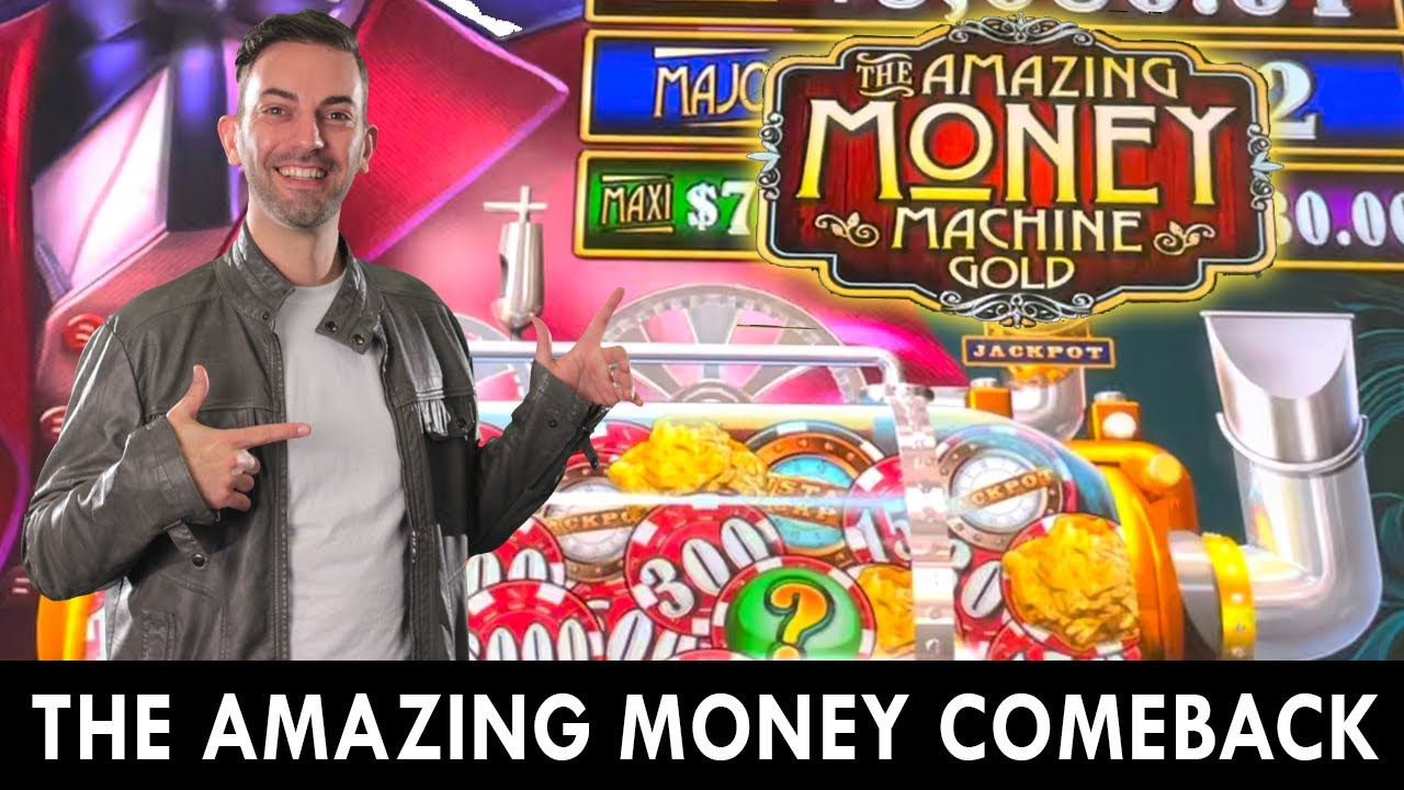 The Amazing Money Comeback