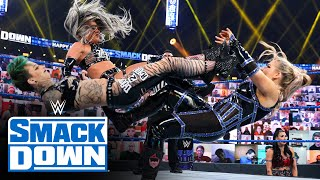 The Riott Squad vs. Tamina & Natalya: SmackDown, Jan. 1, 2021