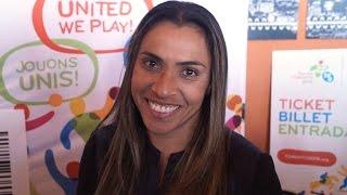 MARTA: Brazilian Soccer Legend talks Pan Am Games